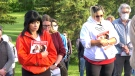 Marilyn Cardinal (left) and Lorna Cardinal (right) are searching for their cousins daughter, Celeste Lacendre Napope. (Sean Amato/CTV News Edmonton)