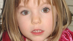 This undated file photo shows Madeleine McCann. British police said on Wednesday June 3, 2020, a German man has been identified as a suspect in the case of a 3-year-old British girl who disappeared 13 years ago while on a family holiday in Portugal. (AP / File)
