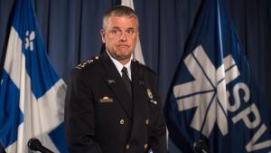 Montreal Police Chief Sylvain Caron. (File photo:  THE CANADIAN PRESS/Graham Hughes)