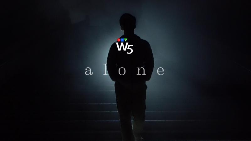 Alone web