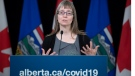 Alberta's chief medical officer of health Dr. Deena Hinshaw provided an update, from Edmonton on Wednesday, June 3, 2020, on COVID-19 and the ongoing work to protect public health. (photography by Chris Schwarz/Government of Alberta)