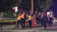 High-speed crash sends 2 to hospital