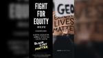 Black Lives Matter will join the Fight for Equity rally at the Alberta legislature on Friday, June 5, 2020 at 6:30 p.m. (Facebook/A Fight for Equity)