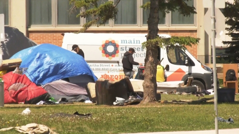 Winnipeg homeless camp coming down