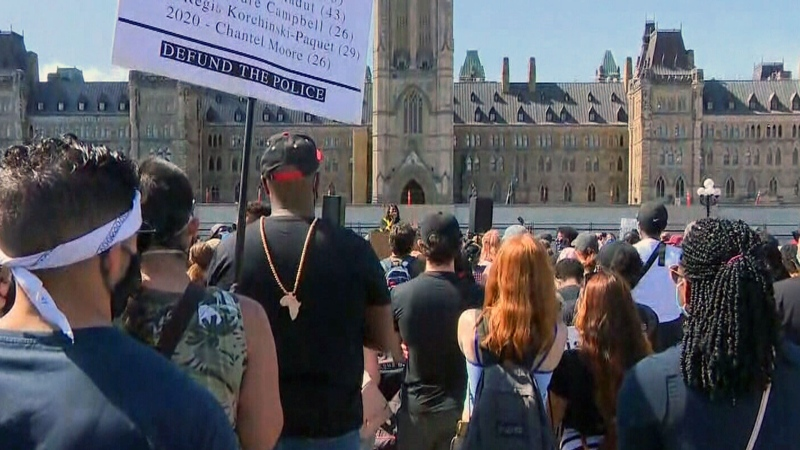 Anti-racism march in Ottawa