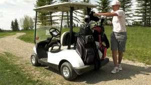 Golf courses have been busy in Calgary since being allowed to reopen during the COVID-19 pandemic.