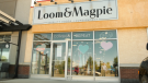 The Loom and Magpie consignment store is seen in this photo. The business is facing backlash after a social media post on Blackout Tuesday.