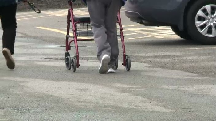 Residents of nursing homes in New Brunswick are now allowed to have visits of two or fewer people, as long as the visit occurs outdoors.