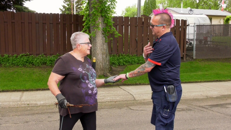 Sask. courier brightens lives
