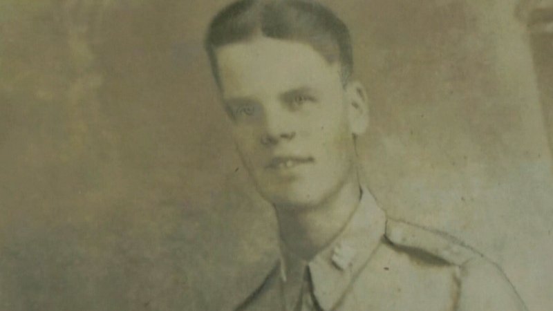Harry Cole pictured in this undated photo. Cole fought during the Second World War and was killed in the retreat to Dunkirk.