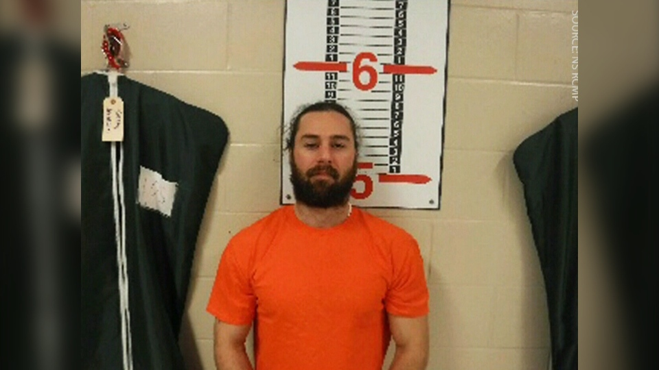 Police say 33-year-old Kevin Edward Clarke-McNeil escaped the Northeast Nova Scotia Correctional Facility sometime before 8:30 p.m. on Friday.(Courtesy N.S. RCMP)