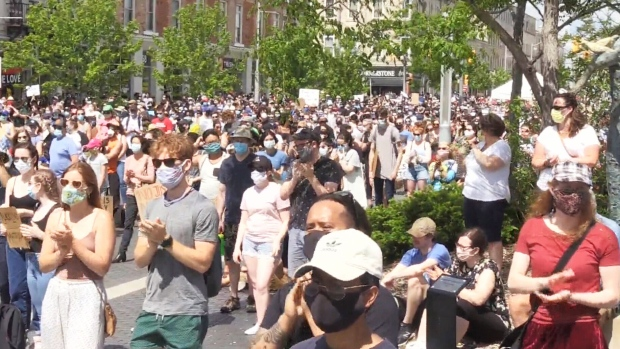 Guelph Black Lives Matter march draws thousands