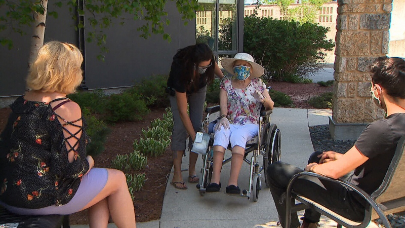 Families in Manitoba, Saskatchewan and Alberta are now able to have face-to-face outdoor visits with loved ones in long-term care homes, a move that health officials say is both necessary and safe.