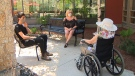 CTV National News: Outdoor visits at care homes