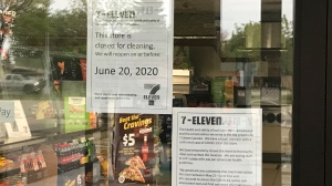 The Castle Downs 7-Eleven was closed early June after an employee tested positive for COVID-19.