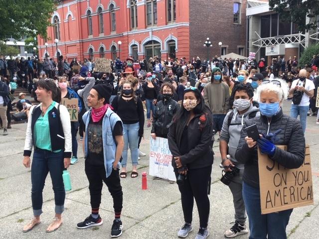 Victoria protest