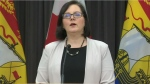 """""""As we gradually open our province, it is more important than ever to maintain the measures that have helped reduce the spread of COVID-19 and flatten the curve in New Brunswick,"""" said Dr. Jennifer Russell, the province's chief medical officer of health."""