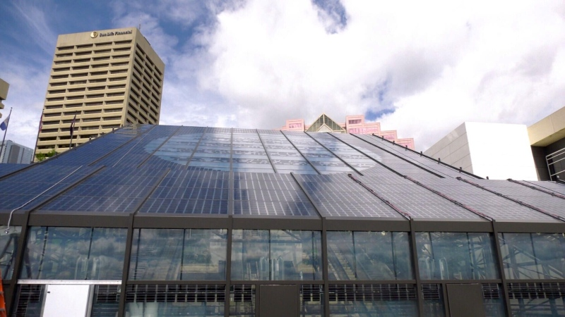 Edmonton Convention Centre (Jay Rosove/CTV News Edmonton)