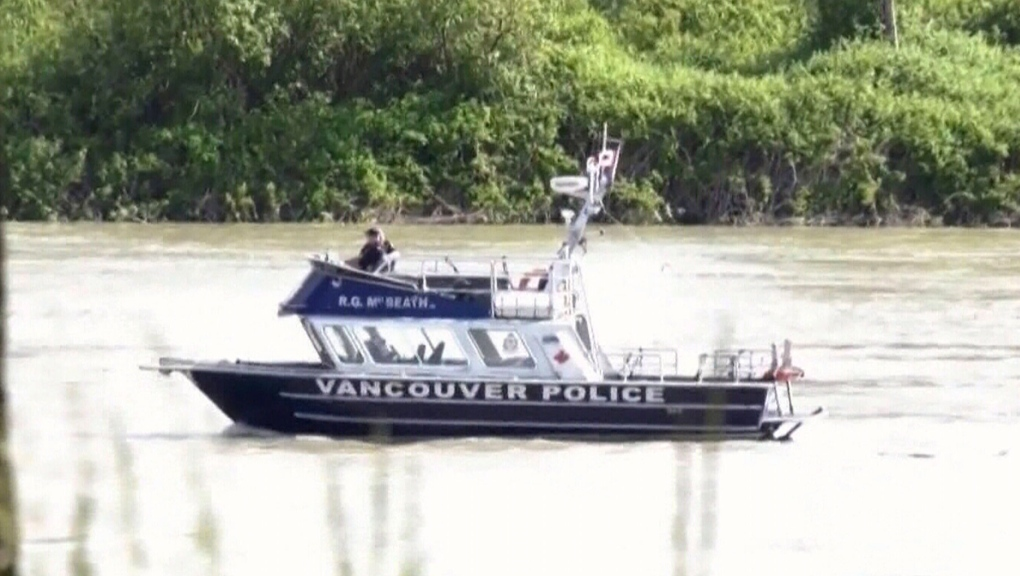 Search for missing plane in Fraser River