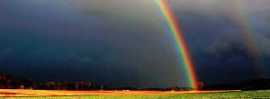 Ottawa weather - rainbow