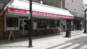 The Dutch Bakery and Diner on Fort Street in downtown Victoria: (CTV News)
