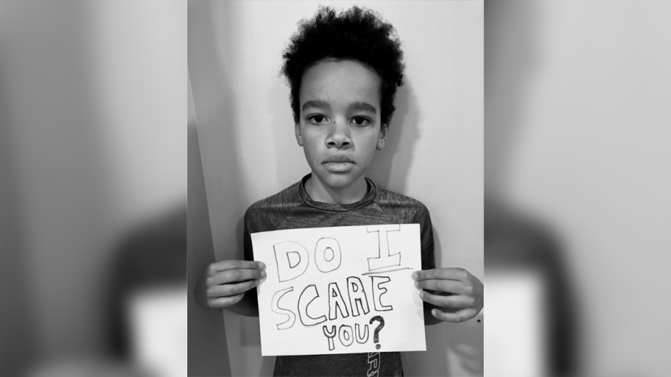 Mitchell Musovsi asks 'Do I scare you?'
