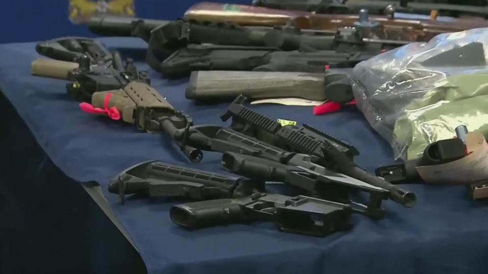 'Ghost guns' seized in Winnipeg