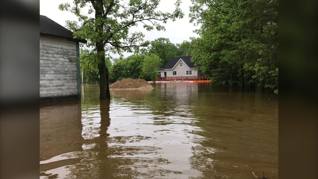 RM of Stuartburn flooding