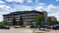 The Pasqua Hospital is seen in this file image, taken June 9, 2020. (Gareth Dillistone/CTV News)