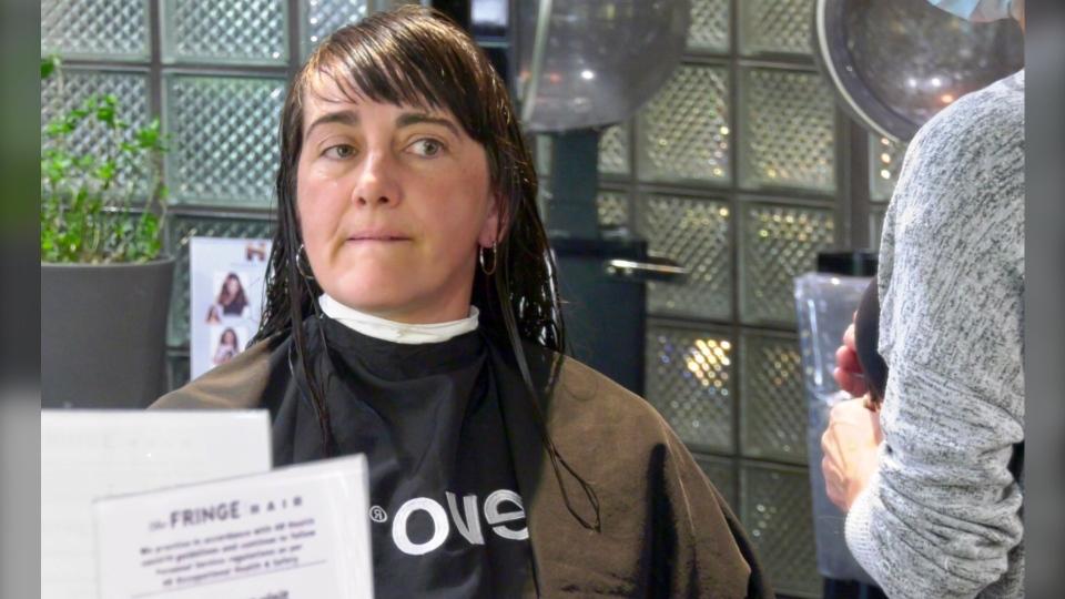 Christine Bootland haircut