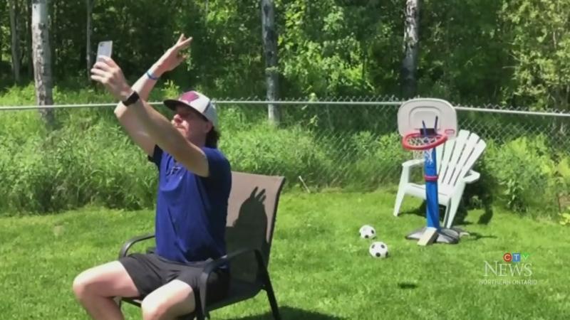 Sudbury dad making a splash with trick shot videos