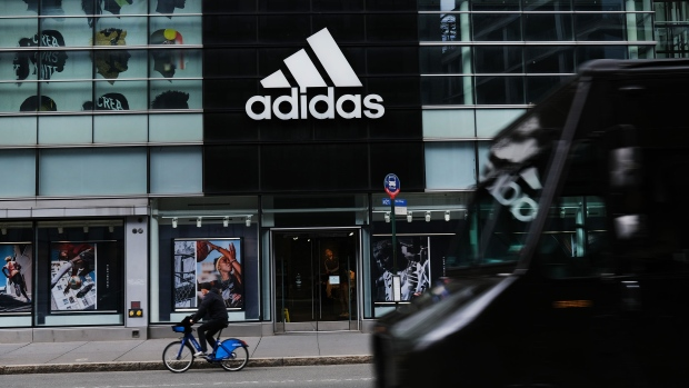 Adidas says at least 30 per cent of new U.S. positions will be filled by Black or Latinx people