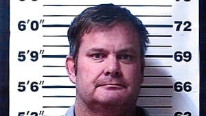 A booking photo provided by the Rexburg (Idaho) Police Department shows Chad Daybell, who was arrested Tuesday, June 9, 2020, on suspicion of concealing or destroying evidence after local and federal investigators searched his property, according to the Fremont County Sheriff's Office. (Rexburg Police Department via AP)