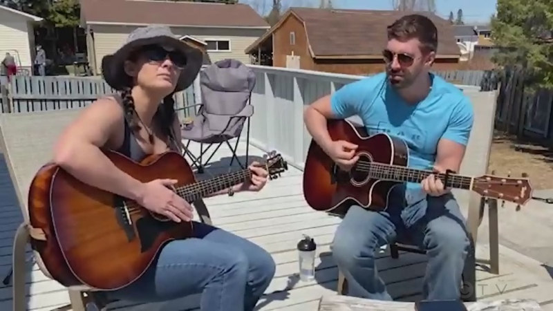 Tonight's song comes to us from Matheson, Ont. where Sean and Christine cover 'Free Falling' by Tom Petty.
