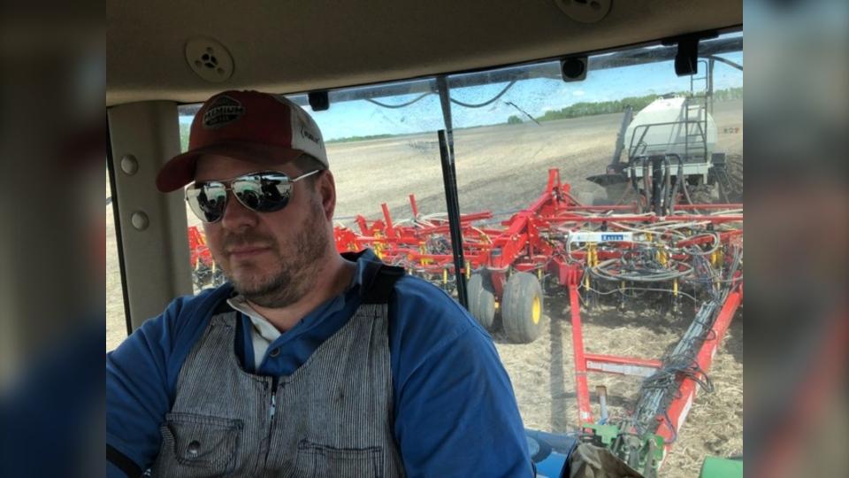 Smeaton farmer Ryan Reid