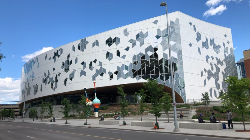 Calgary Public Library branches will reopen their doors to the public beginning Wednesday. (file)