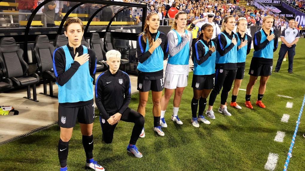 U.S. Soccer Lifts Ban On Kneeling During National Anthem