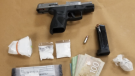 Weapon and drugs seized by London Police