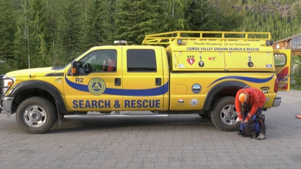 Comox Valley Search and Rescue was called around 5:20 p.m. Sunday when the couple became lost. (CTV News)