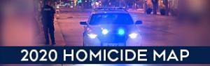 2020 Homicide Map