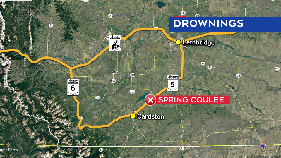 Spring Coulee map
