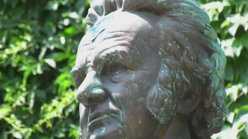 Calls for change as Vancouver statue damaged