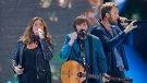 Hillary Scott, from left, Dave Haywood and Charles Kelley, of Lady A, formerly known as Lady Antebellum, perform at the CMT Music Awards at Bridgestone Arena on Wednesday, June 10, 2015, in Nashville, Tenn. (Photo by Wade Payne/Invision/AP)