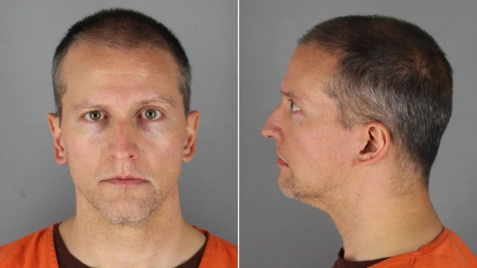Former Minneapolis police officer Derek Chauvin could receive more than US$1 million in pension benefits during his retirement years even if he is convicted of killing George Floyd. (Hennepin County Sheriff's Office)