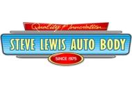 STEVE LEWIS AUTO BODY LOGO