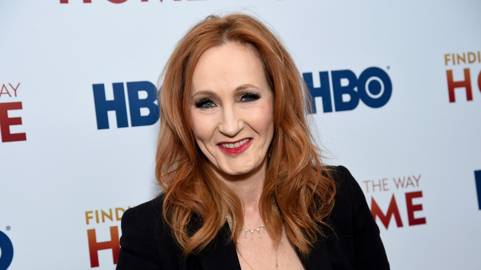 In a Wednesday, Dec. 11, 2019 file photo, author and Lumos Foundation founder J.K. Rowling attends the HBO Documentary Films premiere of