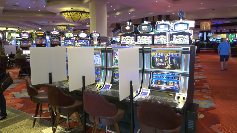 River Cree Casino reopens