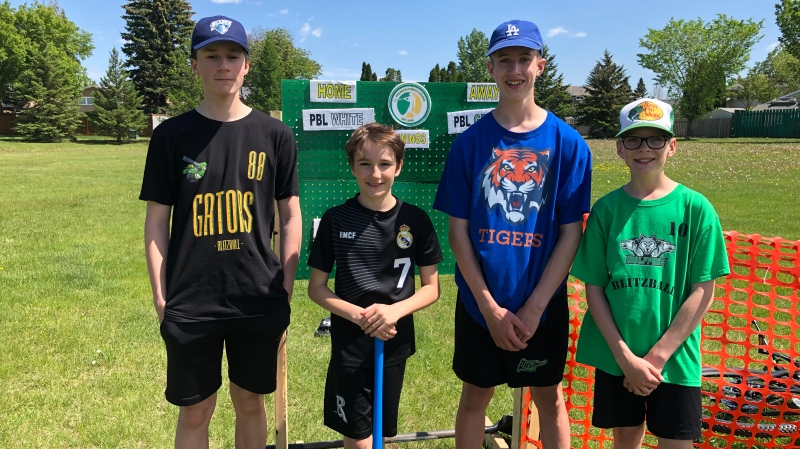 The Prairie Blitzball League is about getting together with friends and staying active. (Pat McKay/CTV Saskatoon)