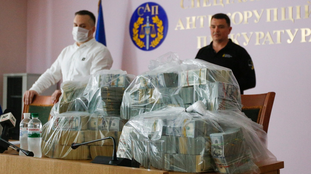 Ukraine: $6M bribe attempt to close case against gas head