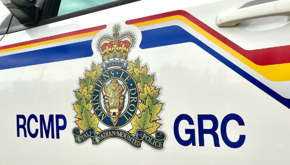 The side of an RCMP vehicle is shown in this undated file photo.